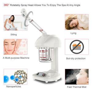 Professional Ozone Facial Steamer Ionic Face Sprayer Salon Spa Skin Care Machine