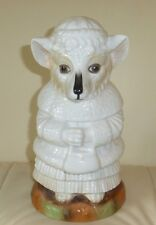 STUNNING ANTIQUE EUROPEAN PORCELAIN ARTIC FOX BANK