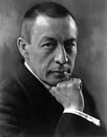 Composer Sergei Rachmaninoff. Giclee Photo Art Repro Choose Canvas or Paper