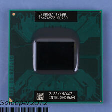 Free shipping Intel Core 2 Duo T7600 2.33 GHz Dual-Core (SL9SD) Socket 478 CPU