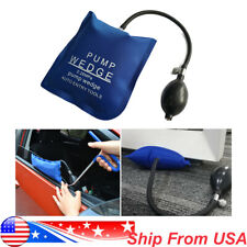 Car Air Pump Wedge Bag Inflatable Auto Door Window Shim Lock Entry Open Tool Kit