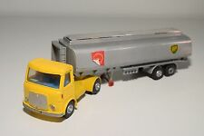 # DINKY TOYS 945 AEC FUEL TANKER TRUCK WITH TRAILER SHELL BP EXCELLENT REPAINT