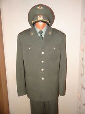Russian army military daily   uniforms  MVD Internal troops maroon Colonel 200X