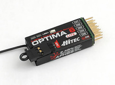 Hitec Optima 6 Ch Lite Aircraft 2.4 GHz AfHSs Full Range With Built-in Telemetry