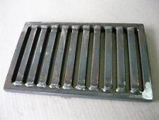 Ofenrost Feuerrost Gussrost Gusseisen Liegerost passend für Wamsler 29,5 x 29 cm