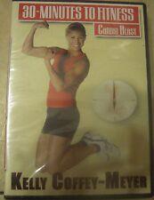 Kelly Coffey-Meyer 30 Minutes to Fitness Cardio Blast DVD New Step Workout