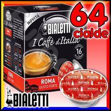 64 Capsule caffè BIALETTI ROMA cialde Mokespresso alluminio espresso Mokona•