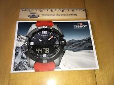 Tissot 2017 Catalogue BRAND NEW Watch Timepiece Elegant Swiss