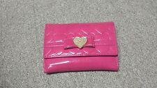 Glossy korean pink wallet