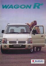Suzuki Wagon R 1.0 ga Gl 1997-98 original del Reino Unido folleto de ventas