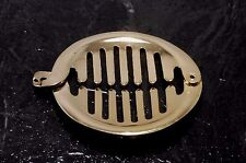 Vintage Hair Comb Clip Pony Tail Holder Clasp Barrette Hair Accessory Gold Tone