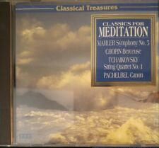 Classics for Meditation (CD, Oct-1997, Madacy)