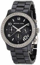 Michael Kors Women's MK5190 Parker Chronograph Black Ceramic 38 mm Watch