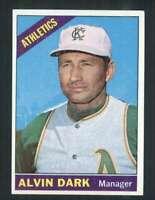 1966 Topps #433 Alvin Dark EX/EX+ Athletics MG 68749