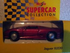 MAISTO 1:40 DIECAST JAGUAR XJ220 METALLIC RED
