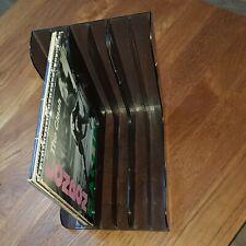 """Rangements LP - Vintage 70's Storage box - vinyles 33 tours 12"""" - Très bon état"""