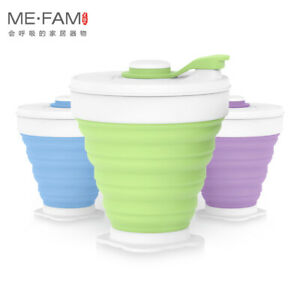 350ml Silicone Collapsible Cup Camping Travel Water Folding Cups Milk Coffee Mug