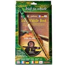 Roundhouse Irish Tin Whistle CD Pack - Island Turf Crafts