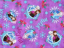 new listingdisney frozen christmas fabric sisters merry and joyful 45 x 56 colorful - Disney Christmas Fabric