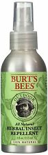 Burt's Bees All-Natural Herbal Insect Repellent, 4 Fluid Ounce