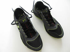 Boys UNDER ARMOUR 'Defend' Size 7 Y US Shoes Runners Brand New Black Green Youth