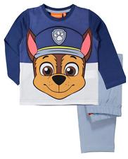 Boys Kids Official Licensed Paw Patrol Various Long Sleeve Pyjamas PJs Chase 4 - 5 Years