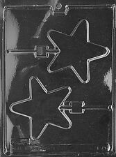 LARGE STAR LOLLY POP mold Chocolate Candy stars dallas cowboys