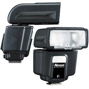 New Nissin i40 TTL FP Flash Speedlite Sony Alpha A7 A6000 Nex RX1 RX100 40S USA