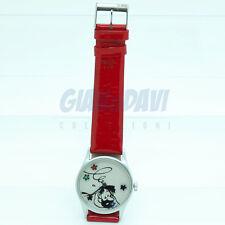 TINTIN MOULINSART HERGE Montre Horloge Orologio - 82003 Haddock Etoiles Rouge