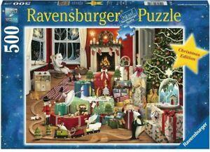Ravensburger Demelsa Haughton Enchanted Christmas 500 Pc Puzzle - NEW - RARE