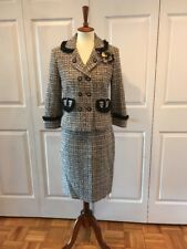 Cynthia Steffe Womans Tweed Suit. Size M. Good Condition
