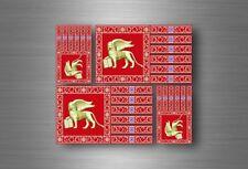 4x adesivi adesivo sticker bandiera vinyl tuning venezia repubblica