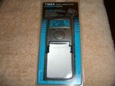 Timex Travel Alarm Clock with Indiglo Night Lite NEW 3521T