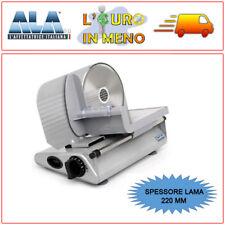 AFFETTATRICE ELETTRICA PROFESSIONALE ALA2000 SL 520 LAMA 220 MM AFFETTA SALUMI