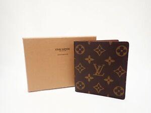 Authentic LOUIS VUITTON Monogram Wallet Bi-fold Billets 10 Credit M60883 Vintage