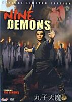 Nine Demons -Hong Kong RARE Kung Fu Martial Arts Action movie - NEW DVD