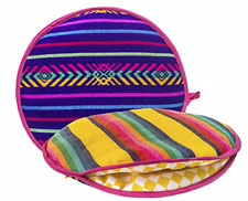 Authentic Mexican Cloth Tortilla Holder Warmer Pouch Insulated Microwave Oven.