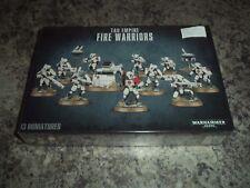 Tau Empire Fire Warriors Breacher / Strike Team Warhammer 40k 40,000 Model New!
