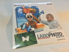Sony LaboPhoto Express Limited Edition Photo Editor PC CD ROM Shrinkwrapped