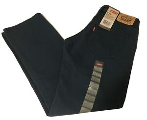 Levis 513 Boys Slim Fit Corduroy Forest Green Pants Sz 16R (28x28) NWT