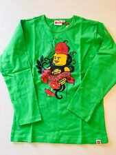 LEGO WEAR - cooles Shirt  TRISTAN in grün ~NEU Gr 140 326m
