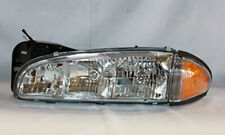 Fits 1996-1999 Pontiac Bonneville Headlight Driver GM2502177 16524193 pa