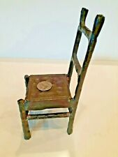 """Metal Doll Chair Play Accessories Decoration Furniture 8"""" Tall"""