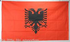 Big 1.5 Metre Republic of Albania Large New Flag 3x5ft Albanian
