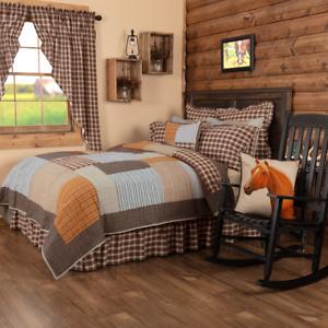 Farmhouse Country Rory Cotton Quilt Bedspread Set Vintage Style Choose Sz/Acc