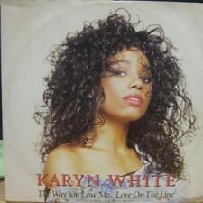 "Karyn White(12""Vinyl)The Way You Love Me-Warner Bros-W 7773-UK-VG+/VG"