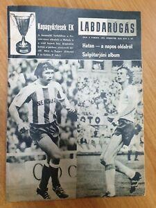 magazine KEPES SPORT football FC Ferencvarosi vs FC Malmo FF Hungary 1975