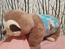 """NEW"" Pillow Chums,Rocky Raccoon, Kellytoy Extra Large 27 Inches Rolled"