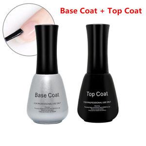 BlinkinGel Nail Gel Polish 15ml Base & Top Coat UV Light Soak Off Nail Lacquer