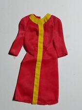 1976 Barbie #9550 Sweet 16 Mod Orange/Yellow Dress (SuperStar Era)